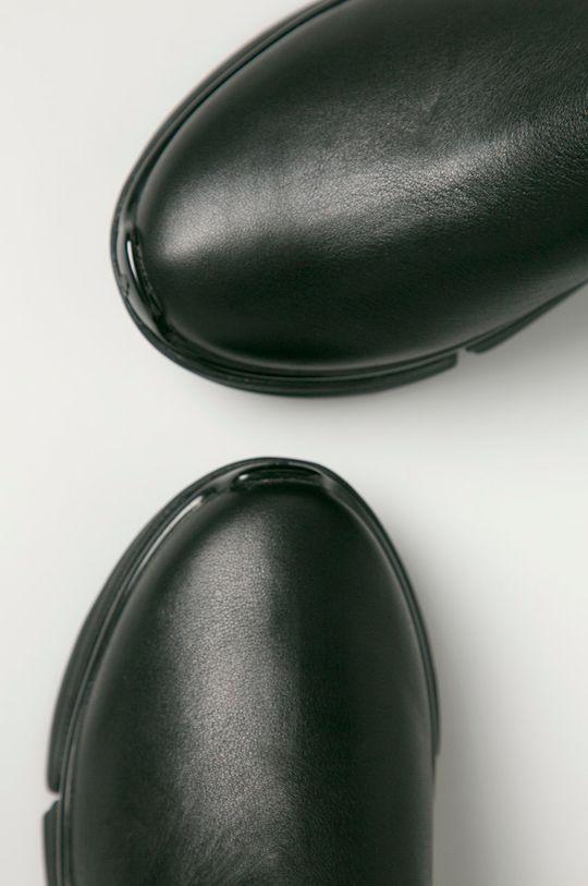 Karl Lagerfeld - Kožené kotníkové boty  Svršek: Textilní materiál, Přírodní kůže Vnitřek: Umělá hmota Podrážka: Umělá hmota