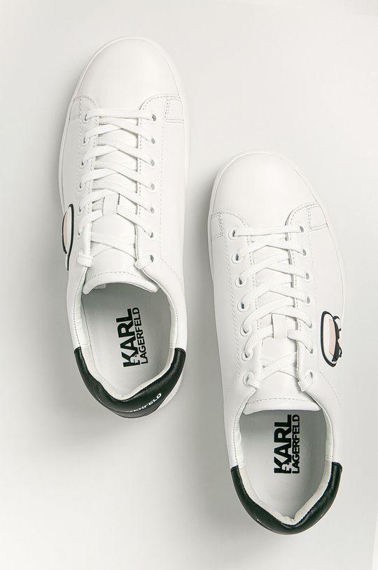 Karl Lagerfeld - Kožené boty Pánský