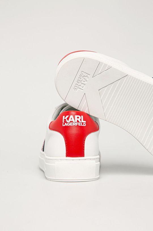 Karl Lagerfeld - Kožené boty  Svršek: Textilní materiál, Přírodní kůže Vnitřek: Umělá hmota Podrážka: Umělá hmota