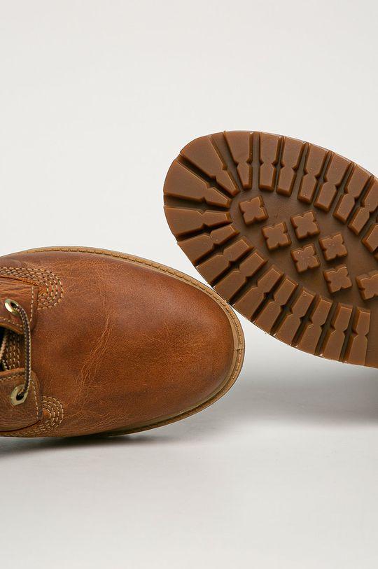 hnědá Timberland - Kožené boty Heritage 6