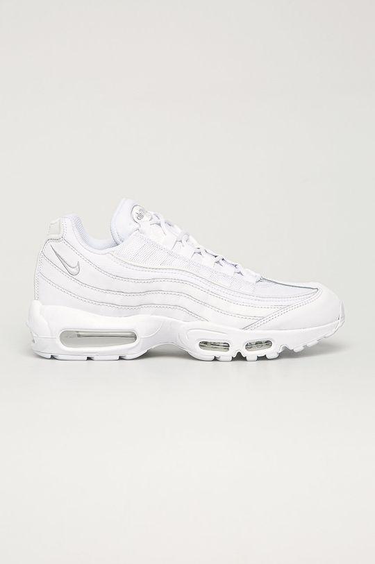 biały Nike Sportswear - Buty Air Max 95 Essential Męski