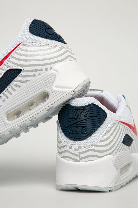 Nike Sportswear - Buty Nike Air Max 90 Cholewka: Materiał tekstylny, Skóra naturalna, Wnętrze: Materiał tekstylny, Podeszwa: Materiał syntetyczny