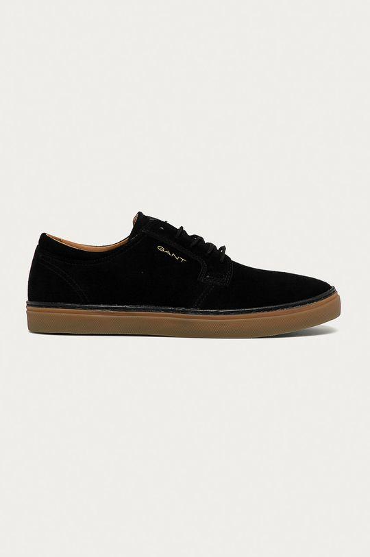 černá Gant - Semišové boty Prepville Pánský