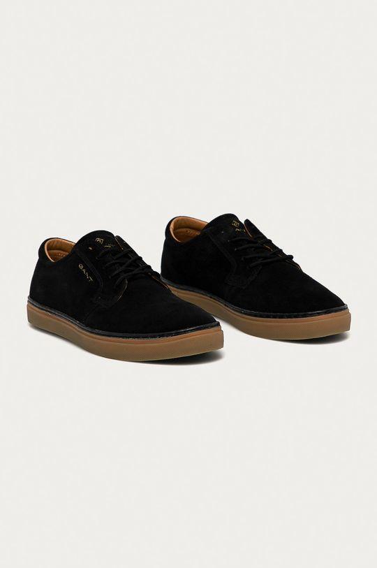 Gant - Semišové boty Prepville černá