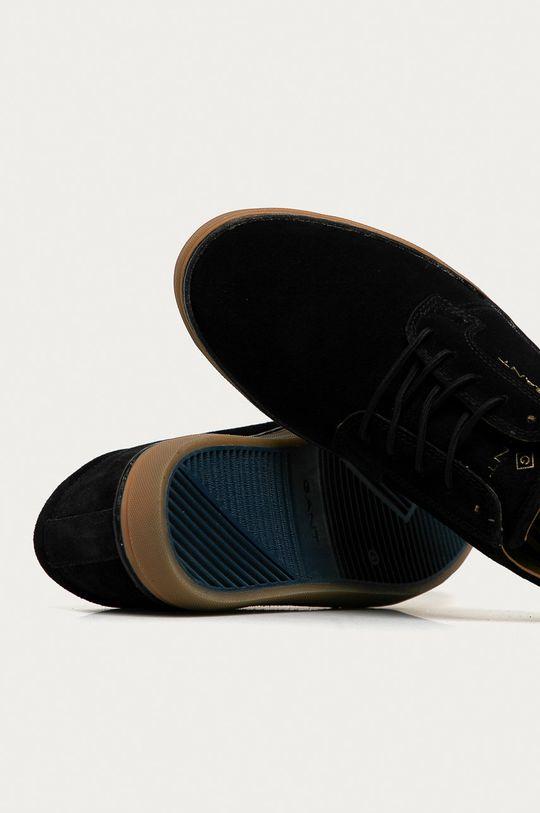 černá Gant - Semišové boty Prepville