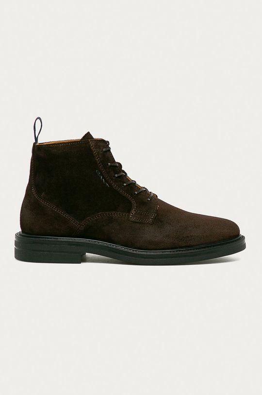 hnědá Gant - Semišové boty Kyree Pánský