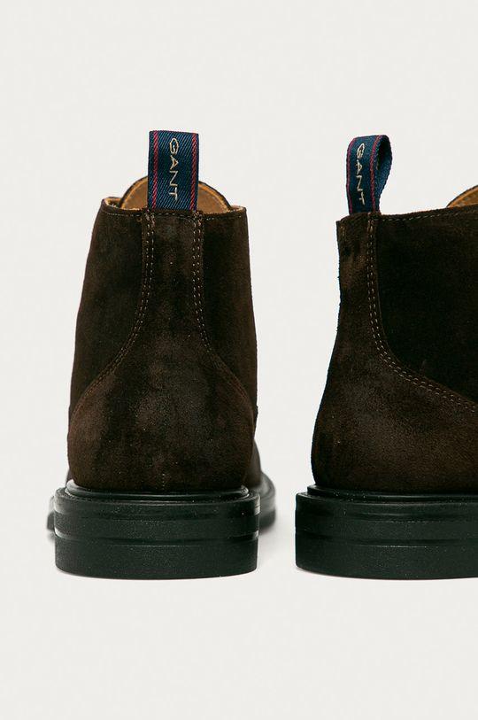 Gant - Semišové boty Kyree  Svršek: Přírodní kůže Vnitřek: Přírodní kůže Podrážka: Umělá hmota