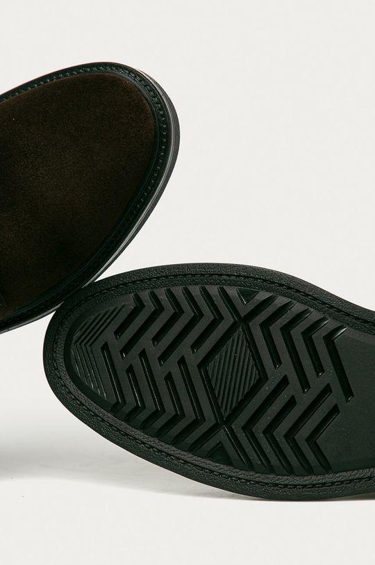 hnědá Gant - Semišové boty Kyree