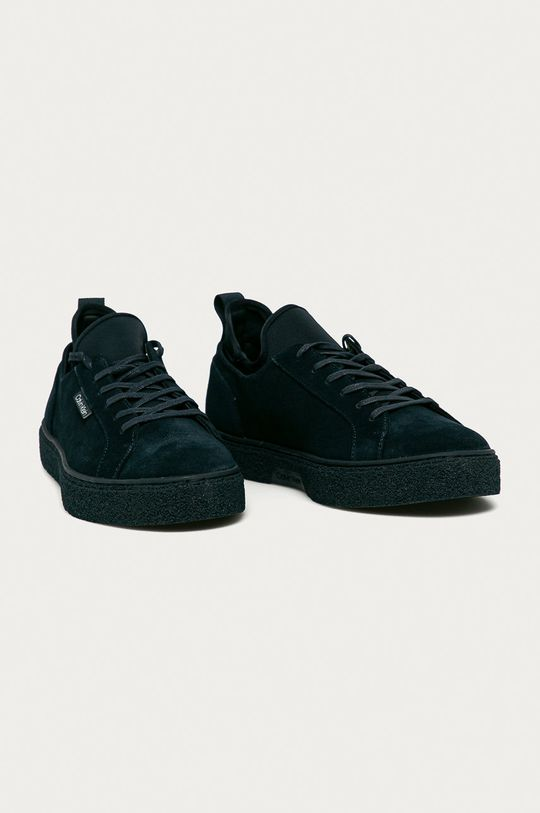 Calvin Klein - Semišové boty námořnická modř