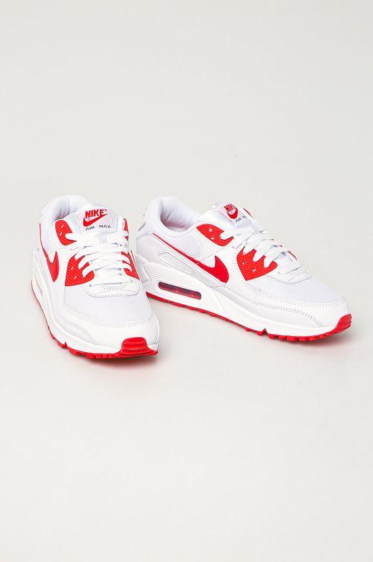 Nike Sportswear - Buty Air Max 90 biały
