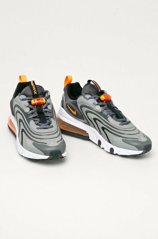 Nike Sportswear - Buty Air Max 270 React szary