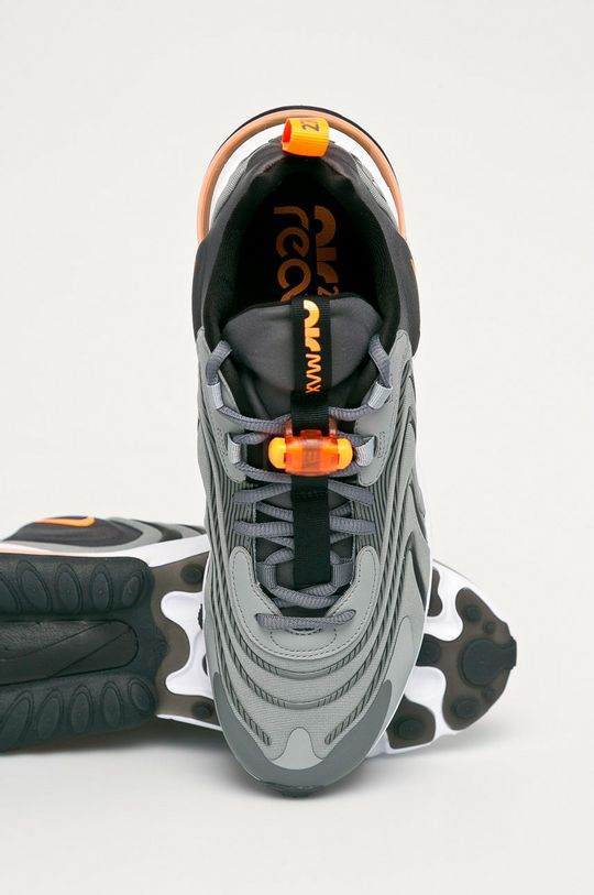 szary Nike Sportswear - Buty Air Max 270 React