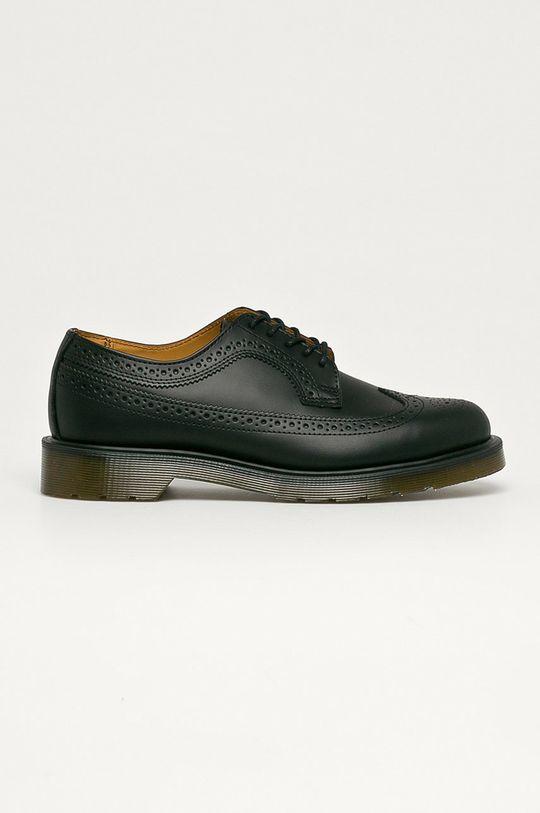 negru Dr. Martens - Pantofi de piele 3989 De bărbați