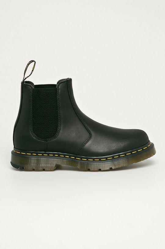 černá Dr. Martens - Kožené kotníkové boty 2976 Pánský