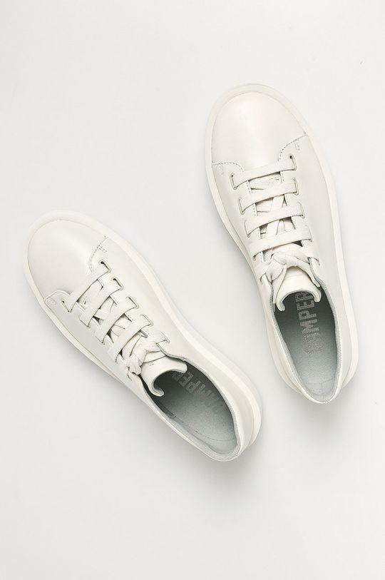 biela Camper - Kožená obuv Courb