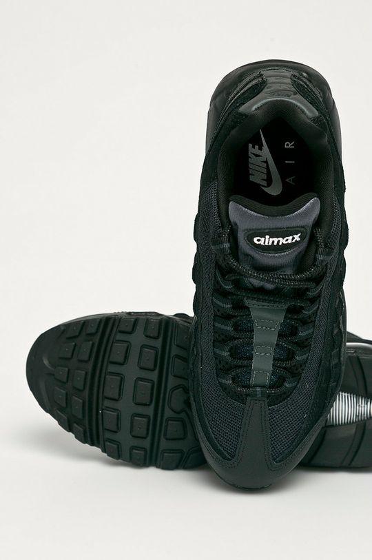 čierna Nike Sportswear - Topánky Air Max 95 Essential