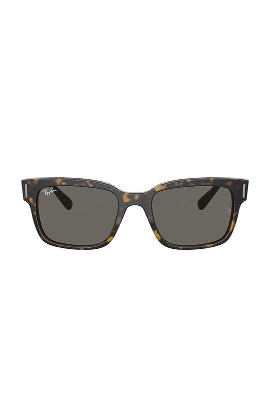 Ray-Ban - Brýle JEFFREY hnědá