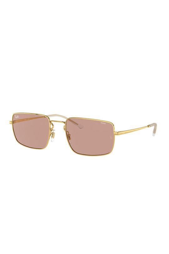 złoty Ray-Ban - Okulary 0RB3669 Damski