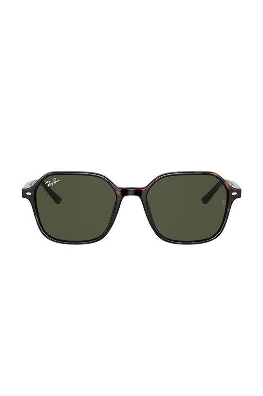 Ray-Ban - Okulary JOHN brązowy