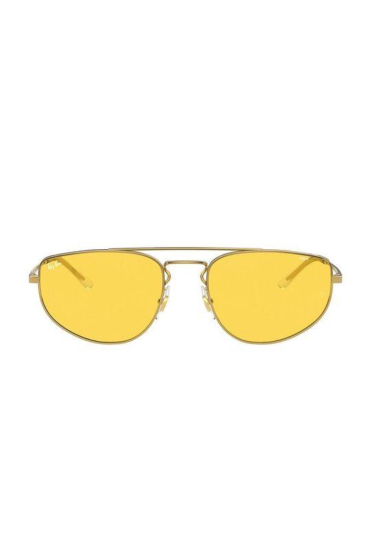 Ray-Ban - Okulary RB3668 złoty
