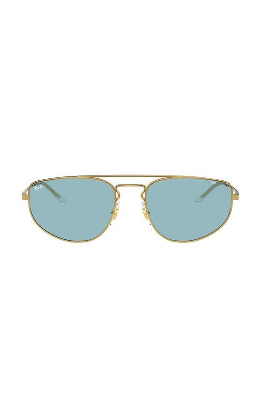 Ray-Ban - Okulary 0RB3668 złoty