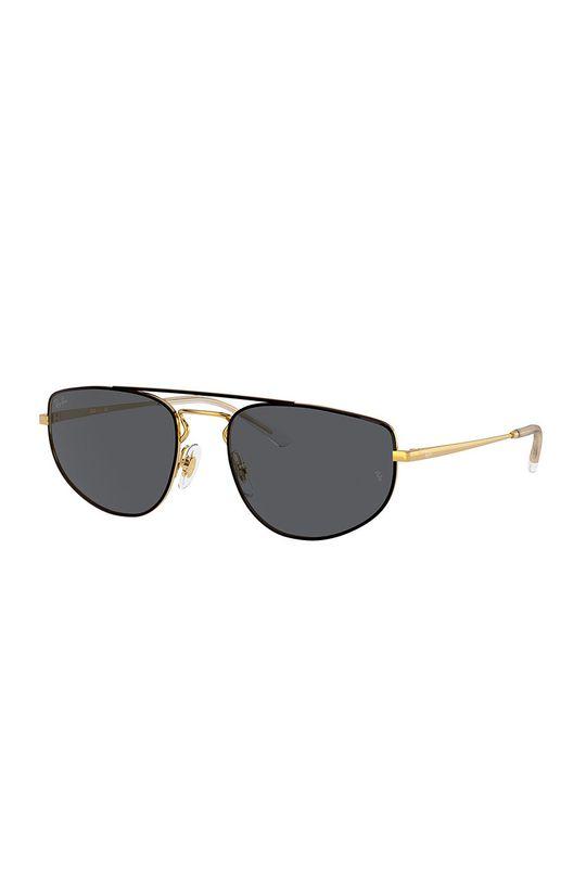 czarny Ray-Ban - Okulary RB3668 Unisex