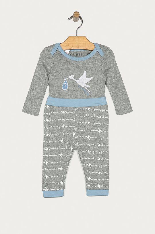 gri Guess Jeans - Compleu bebe 62-76 cm De băieți