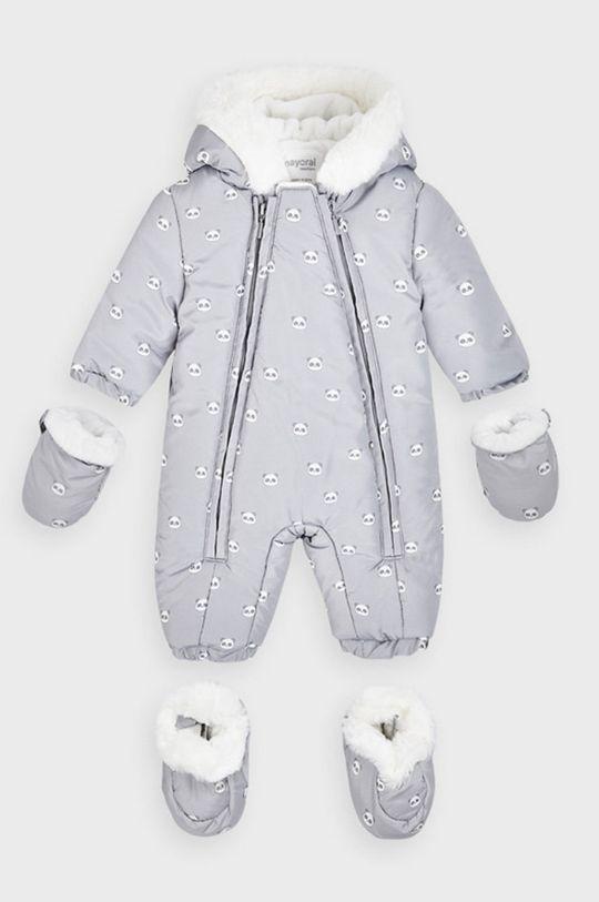 svetlosivá Mayoral Newborn - Overal pre bábätká 55-86 cm Chlapčenský