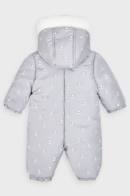 Mayoral Newborn - Overal pre bábätká 55-86 cm svetlosivá