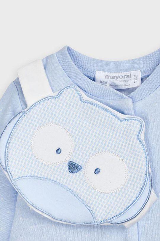 Mayoral Newborn - Overal pre bábätká (2-pak)  1. látka: 99% Bavlna, 1% Elastan 2. látka: 99% Bavlna, 1% Elastan 3. látka: 100% Bavlna