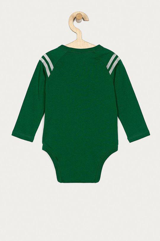 GAP - Kojenecký overal 50-86 cm tmavě zelená