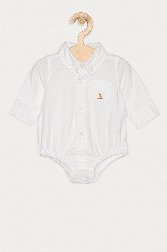 alb GAP - Body bebe 50-86 cm De băieți