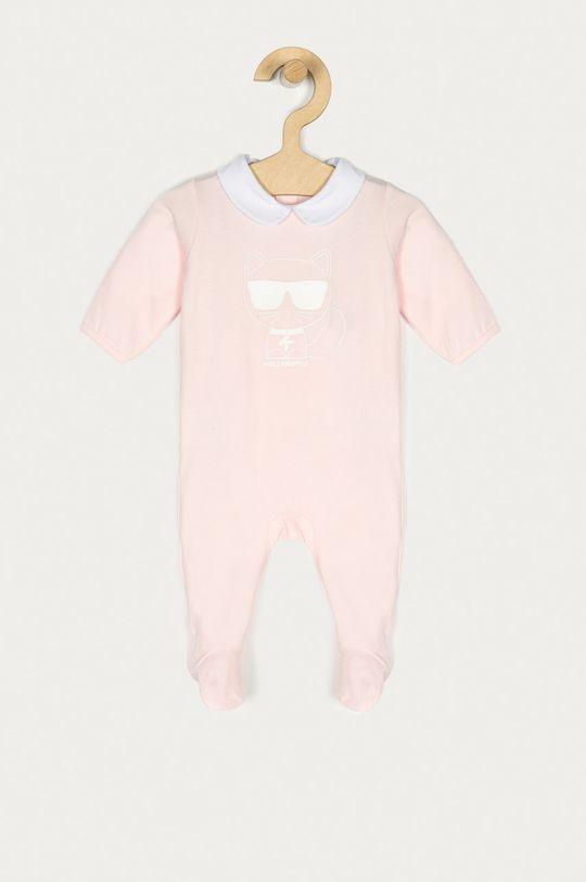 roz Karl Lagerfeld - Costum bebe 54-81 cm De fete
