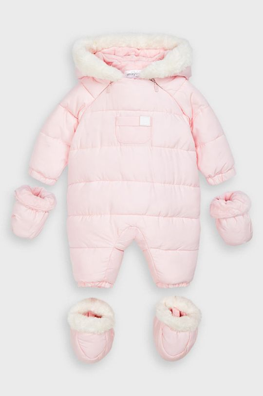 ružová Mayoral - Overal pre bábätká 55-86 cm Dievčenský