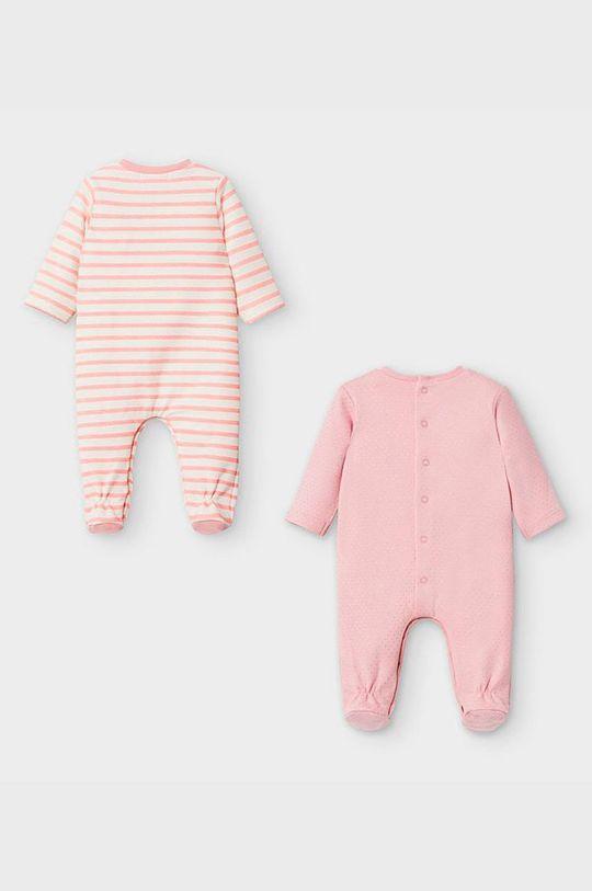 Mayoral Newborn - Costum bebe 55-86 cm (2-pack) roz