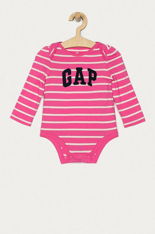 roz GAP - Body bebe 50-80 cm De fete