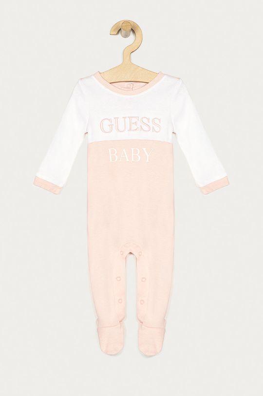 różowy Guess Jeans - Śpioszki niemowlęce 62-76 cm Dziecięcy