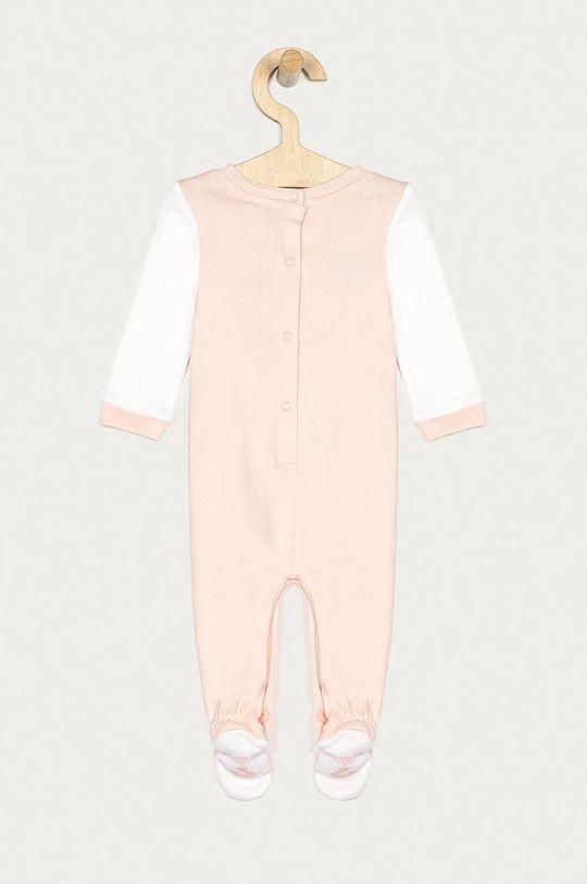 Guess Jeans - Śpioszki niemowlęce 62-76 cm różowy