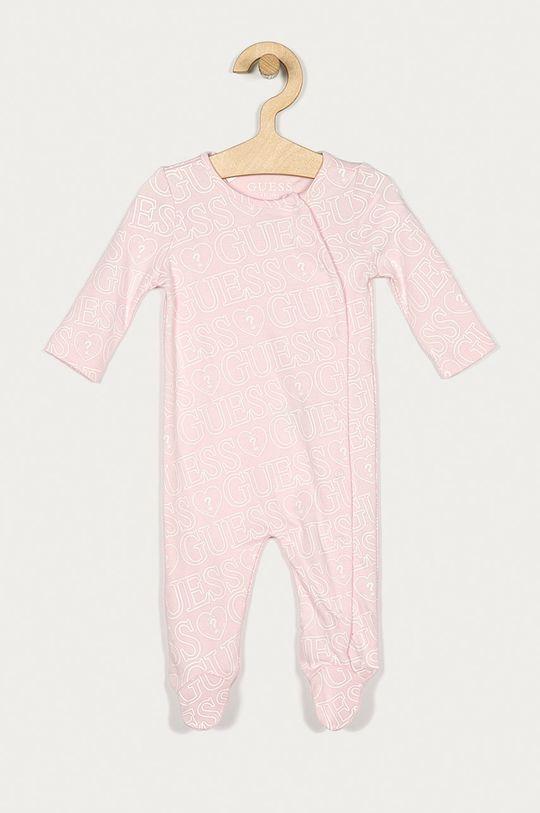 roz Guess Jeans - Costum bebe 62-76 cm De copii
