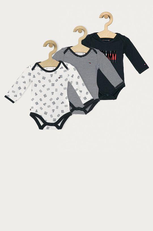 bleumarin Tommy Hilfiger - Body bebe 56-92 cm (3-pack) De copii