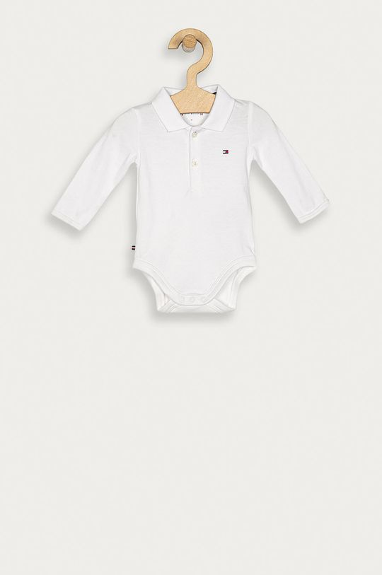 alb Tommy Hilfiger - Body bebe 56-92 cm De copii