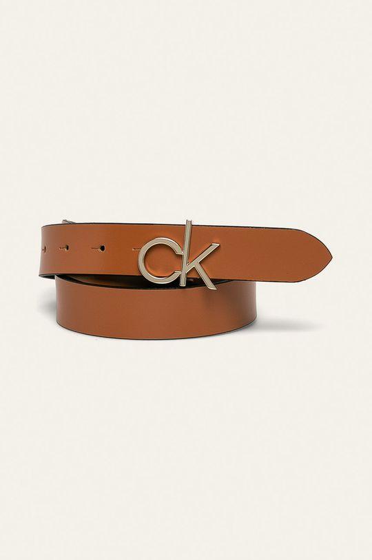 złoty brąz Calvin Klein - Pasek Damski