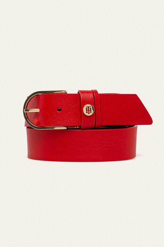 červená Tommy Hilfiger - Kožený pásek Dámský