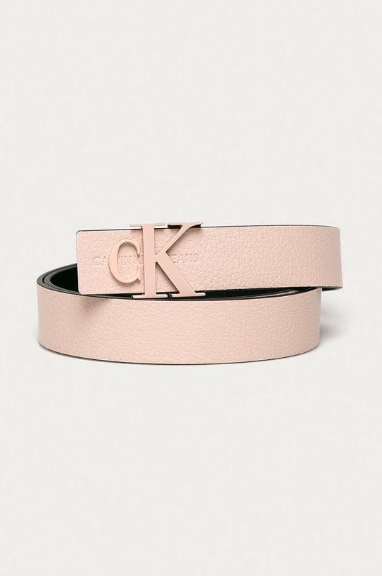 roz Calvin Klein Jeans - Curea de piele De femei