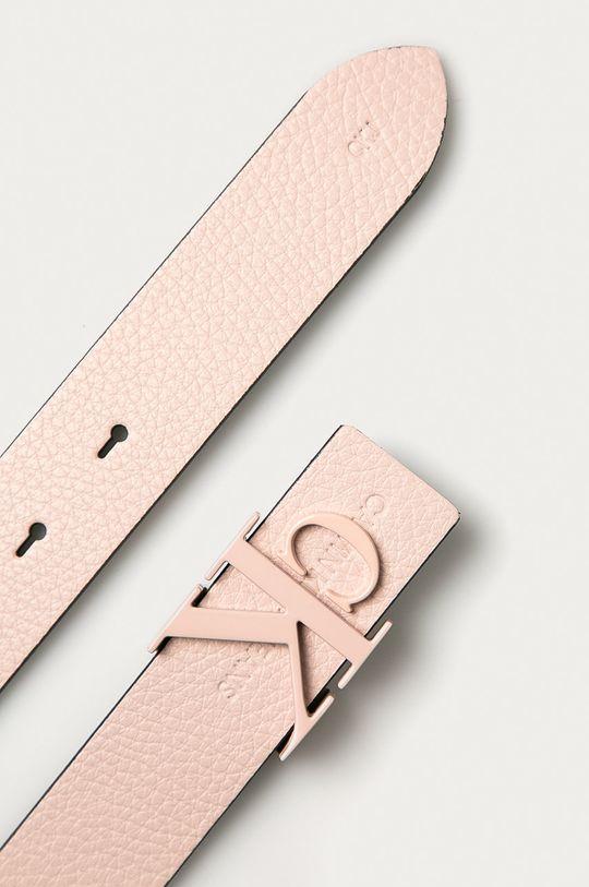 Calvin Klein Jeans - Curea de piele roz