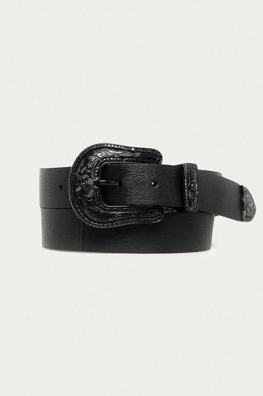 černá Patrizia Pepe - Kožený pásek Dámský