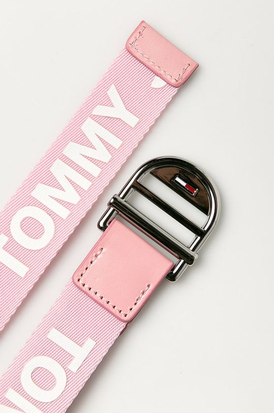 Tommy Jeans - Opasok pastelová ružová