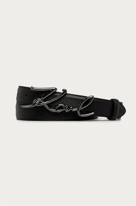 negru Karl Lagerfeld - Curea de piele De femei