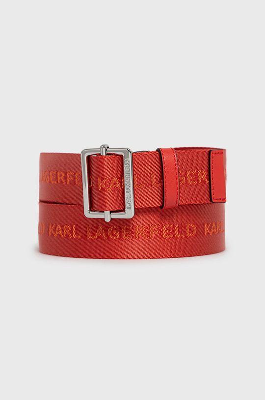 czerwony Karl Lagerfeld - Pasek Damski