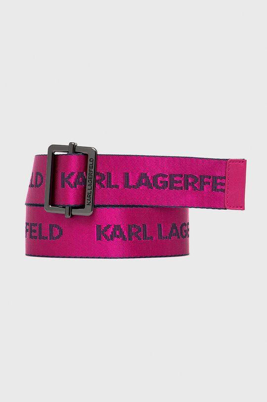 ostry różowy Karl Lagerfeld - Pasek 205W3105 Damski